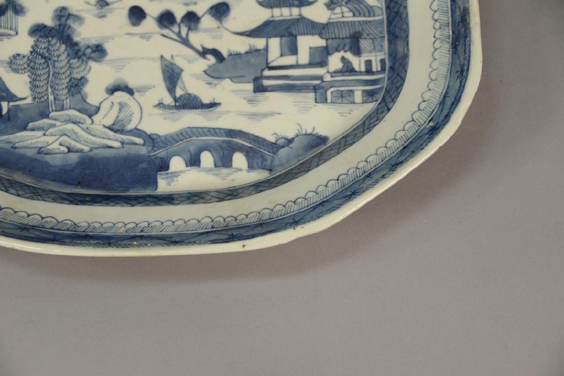 Two Oriental porcelain pieces to include a Famille Rose - 9
