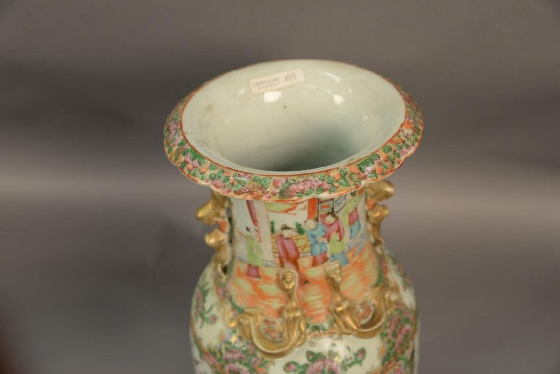 Two Oriental porcelain pieces to include a Famille Rose - 2