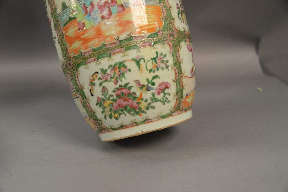 Two Oriental porcelain pieces to include a Famille Rose - 5