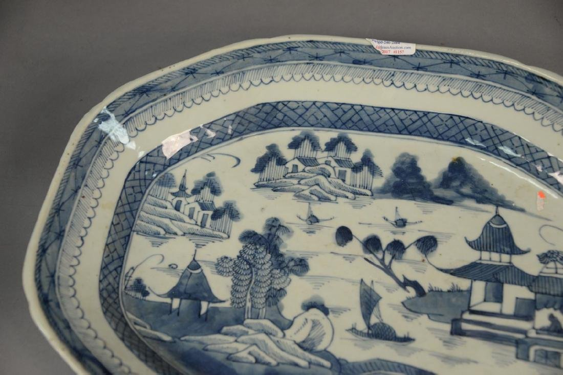 Two Oriental porcelain pieces to include a Famille Rose - 8