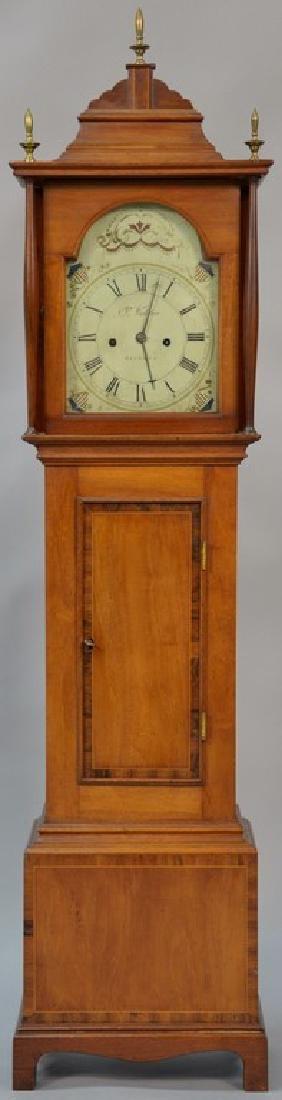 Joshua Wilder (1786-1860) Federal mahogany time piece