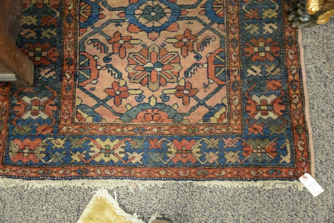 "Hamaden Oriental throw rug.  3'4"" x 6'6"" - 2"