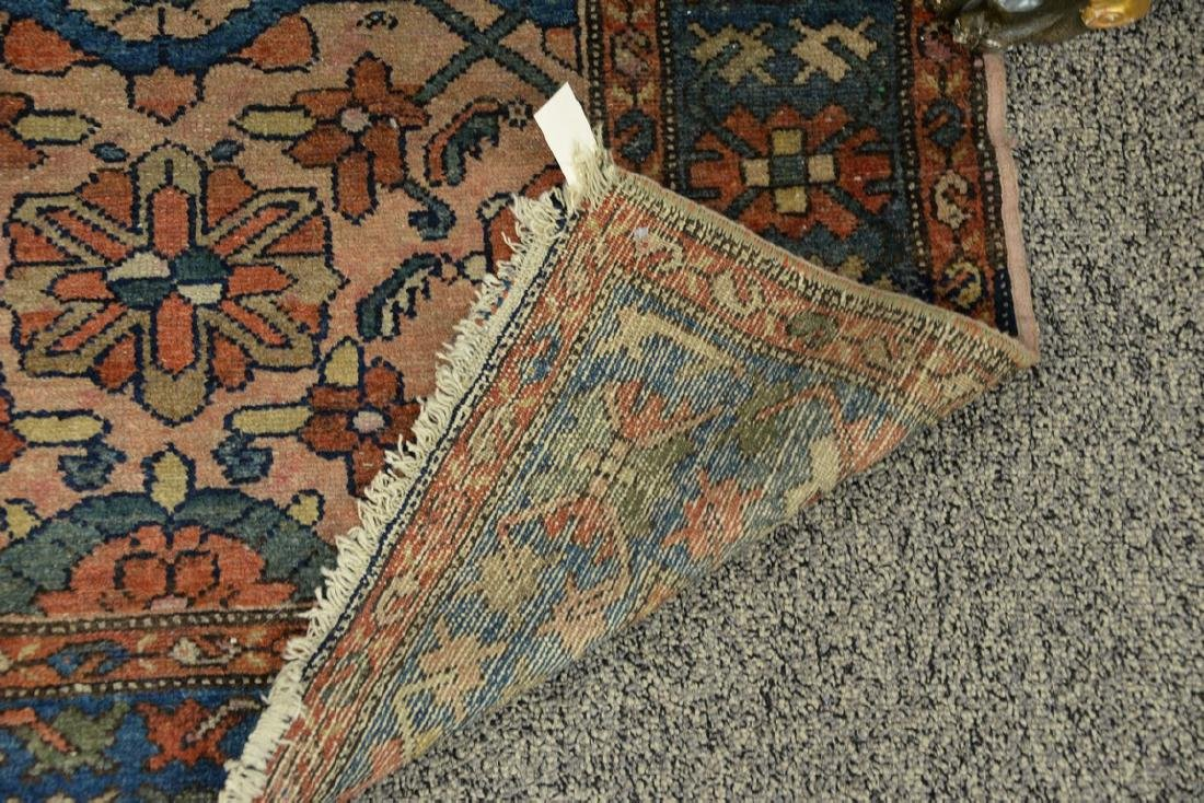 "Hamaden Oriental throw rug.  3'4"" x 6'6"" - 3"