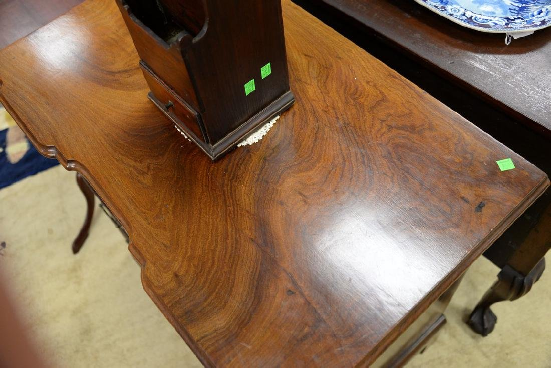 Chippendale mahogany diminutive block front chest of - 4