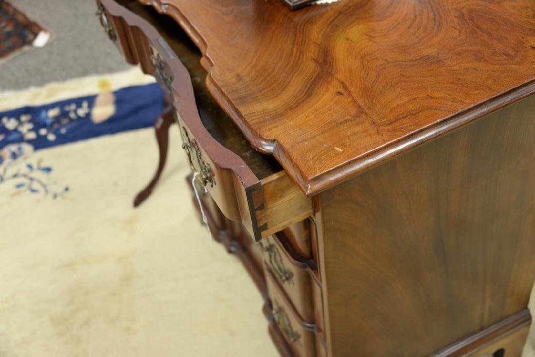 Chippendale mahogany diminutive block front chest of - 7