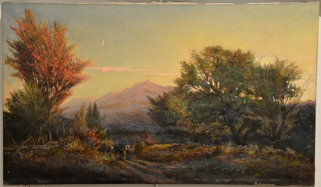 Thaddeus Defrees (1855-1888)  October Twilight  View of