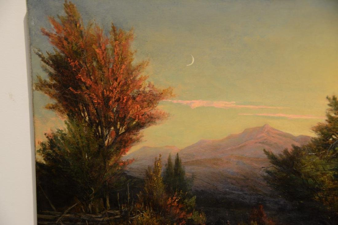 Thaddeus Defrees (1855-1888)  October Twilight  View of - 2