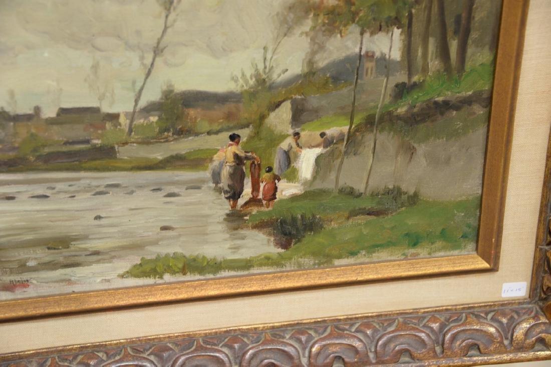 Pair of William Edward Norton (1843-1916)  oil on - 2