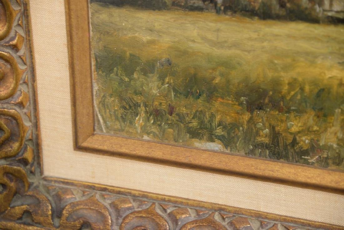 Pair of William Edward Norton (1843-1916)  oil on - 5