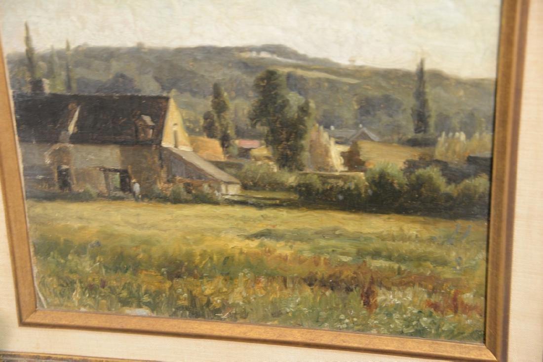 Pair of William Edward Norton (1843-1916)  oil on - 6
