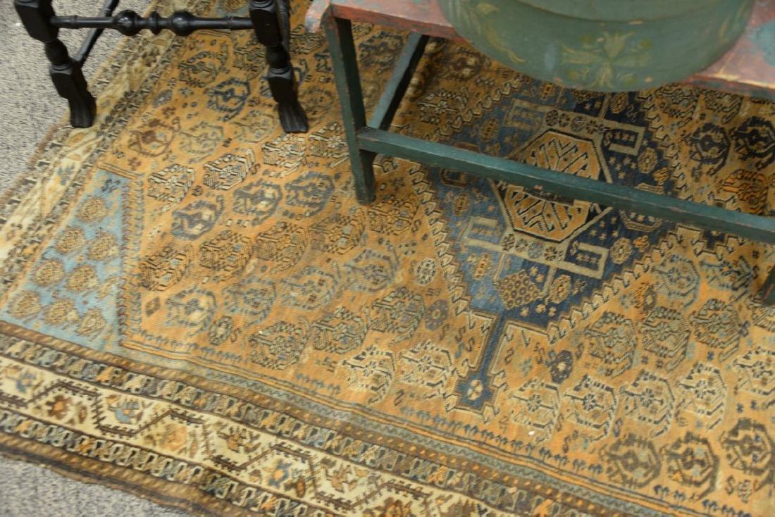 "Caucasian Oriental throw rug.  5' x 6'6"" - 3"