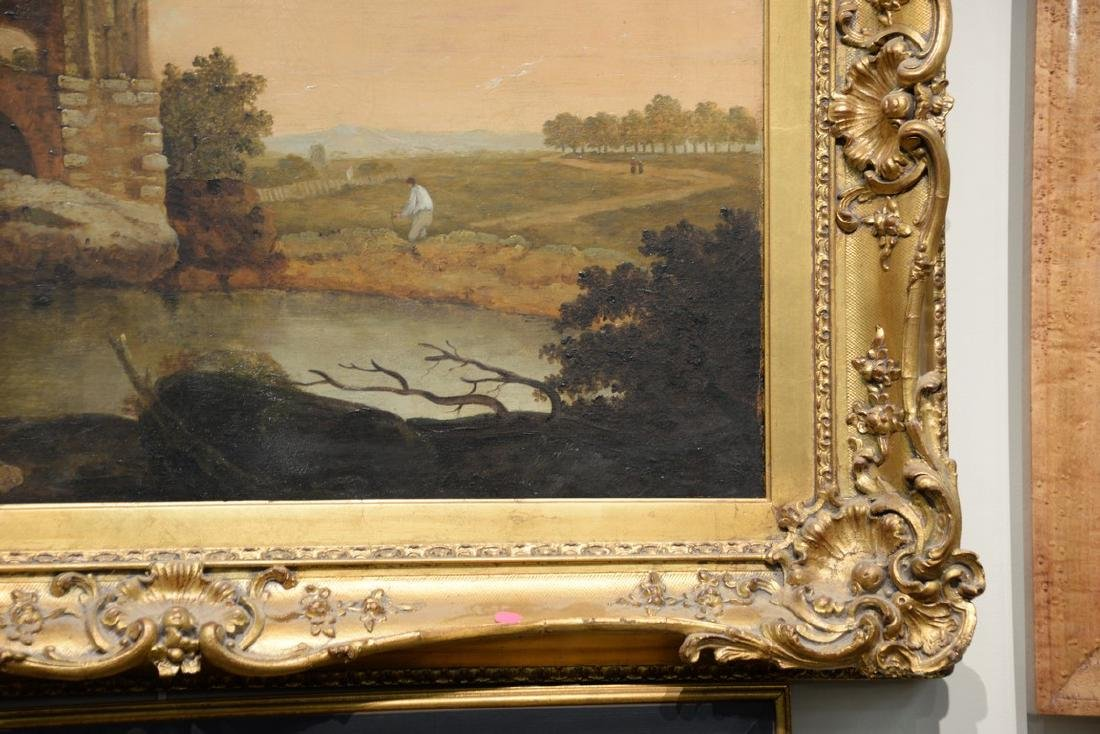 Attributed to Richard Wilson (1714-1782)  oil on canvas - 3