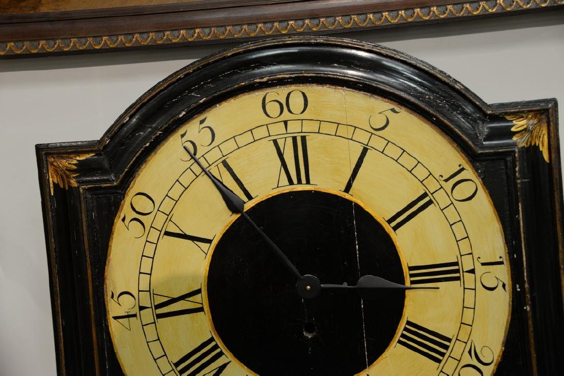 Unusual George III black lacquered and gilded tavern - 2