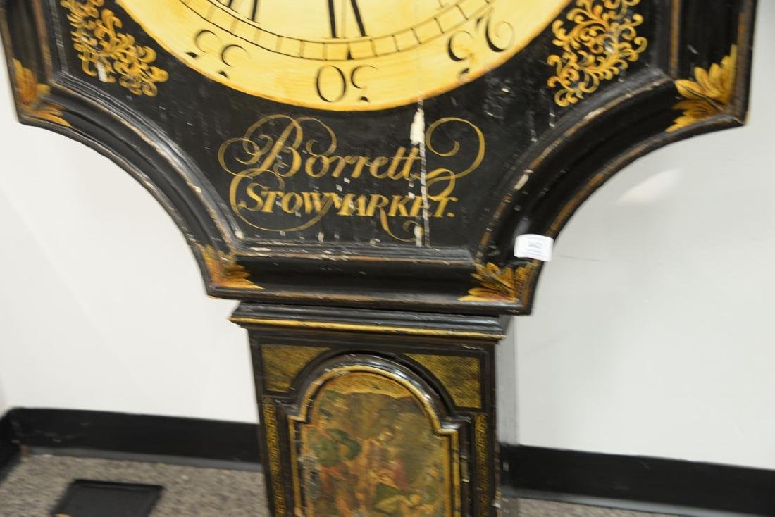 Unusual George III black lacquered and gilded tavern - 3