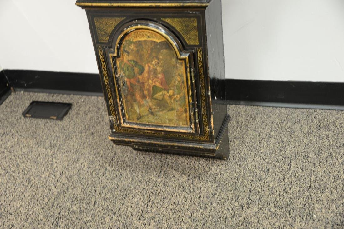 Unusual George III black lacquered and gilded tavern - 4