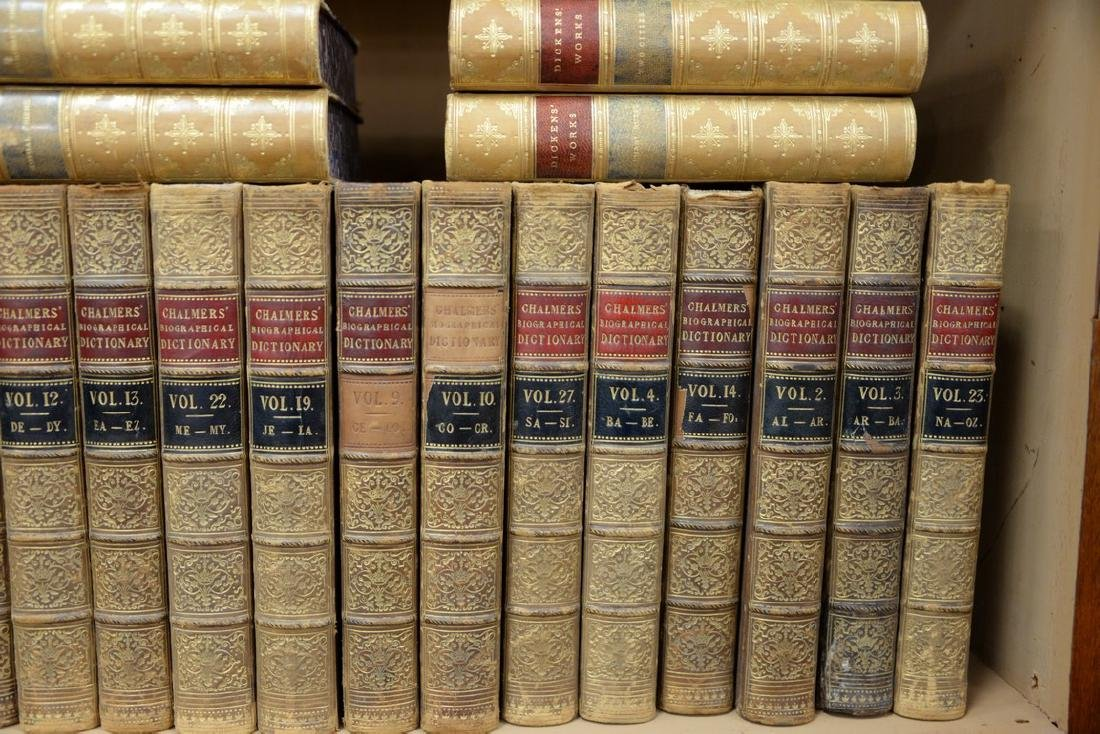 Fifty-seven leatherbound books including Sir Archibald, - 6