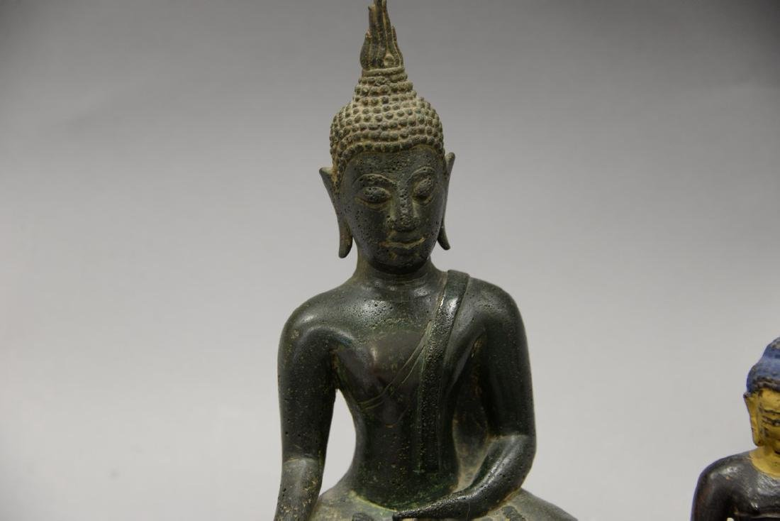 Group of eight Asian and Archaic pieces to include two - 2