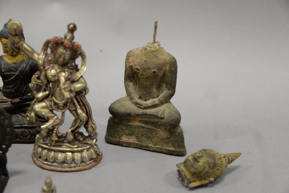 Group of eight Asian and Archaic pieces to include two - 4
