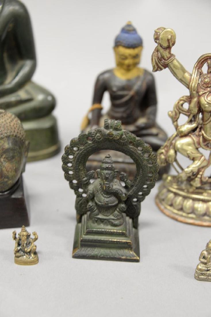 Group of eight Asian and Archaic pieces to include two - 6