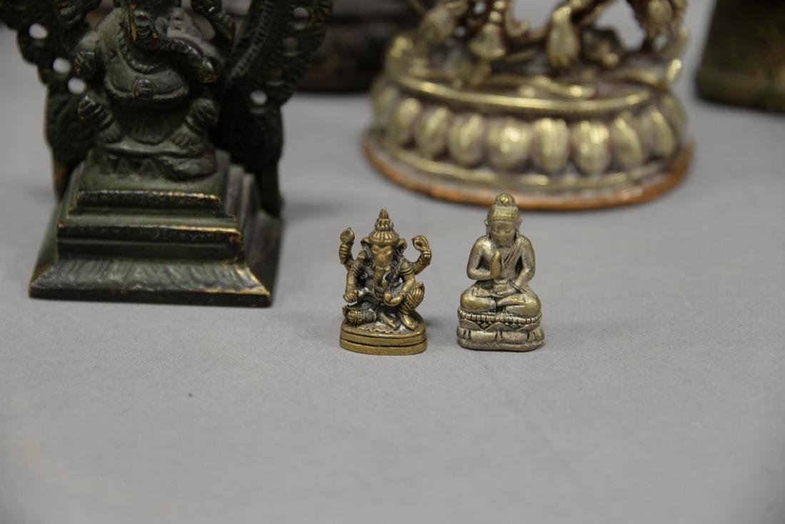 Group of eight Asian and Archaic pieces to include two - 8