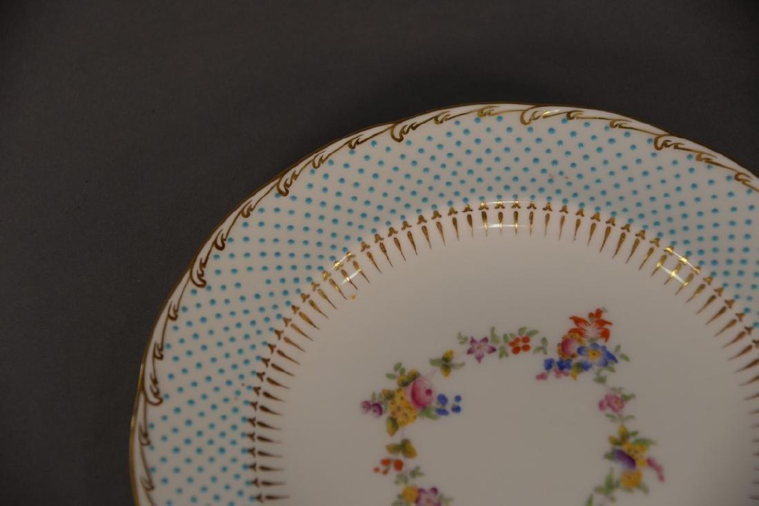Two sets of porcelain plates including set of ten - 2