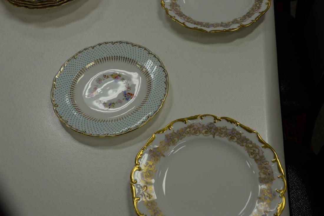 Two sets of porcelain plates including set of ten - 5