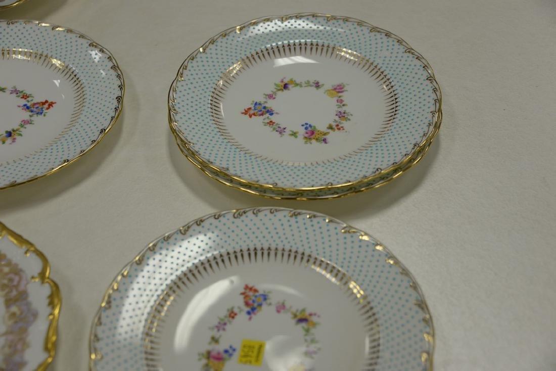 Two sets of porcelain plates including set of ten - 6