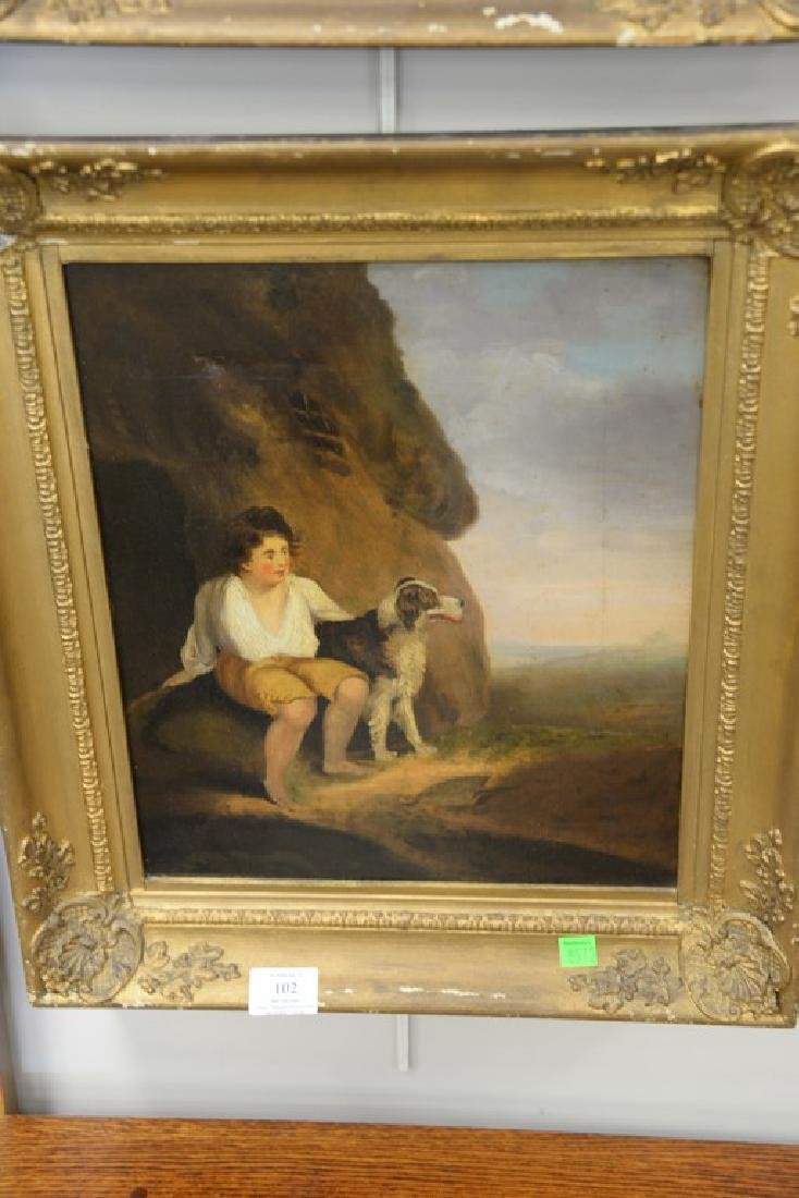 Pair of 19th century oil on canvas portrait paintings - 3