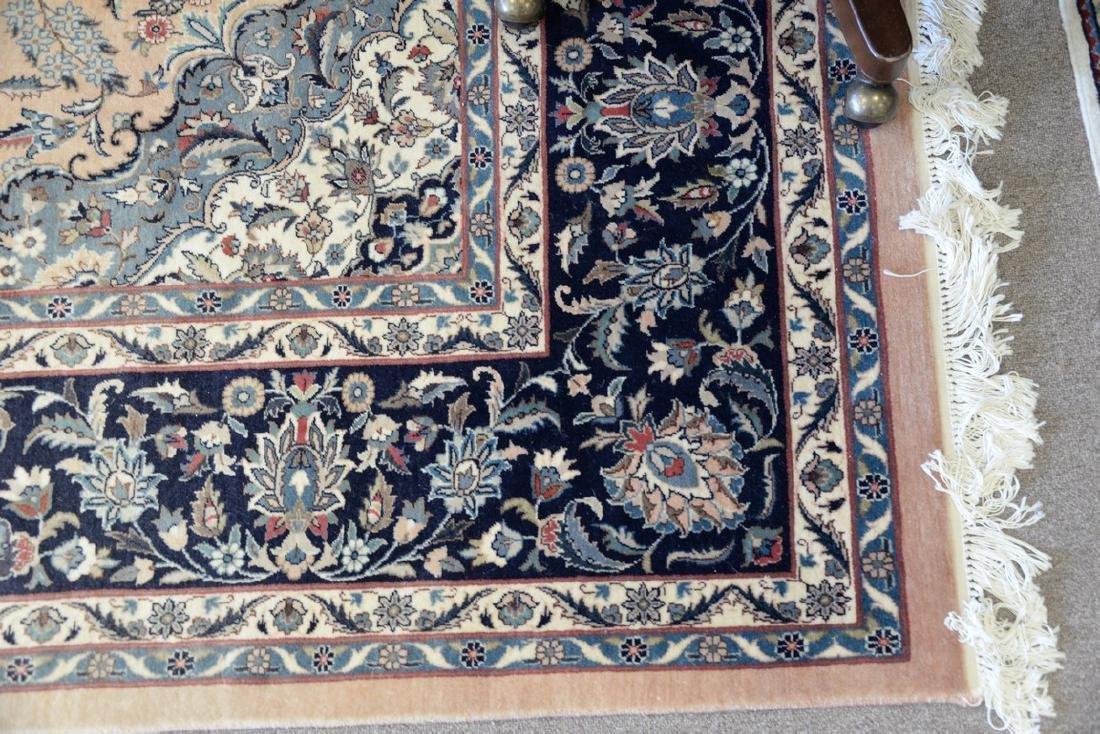 "Oriental carpet (some sun fading), 9' x 12'2"" - 2"