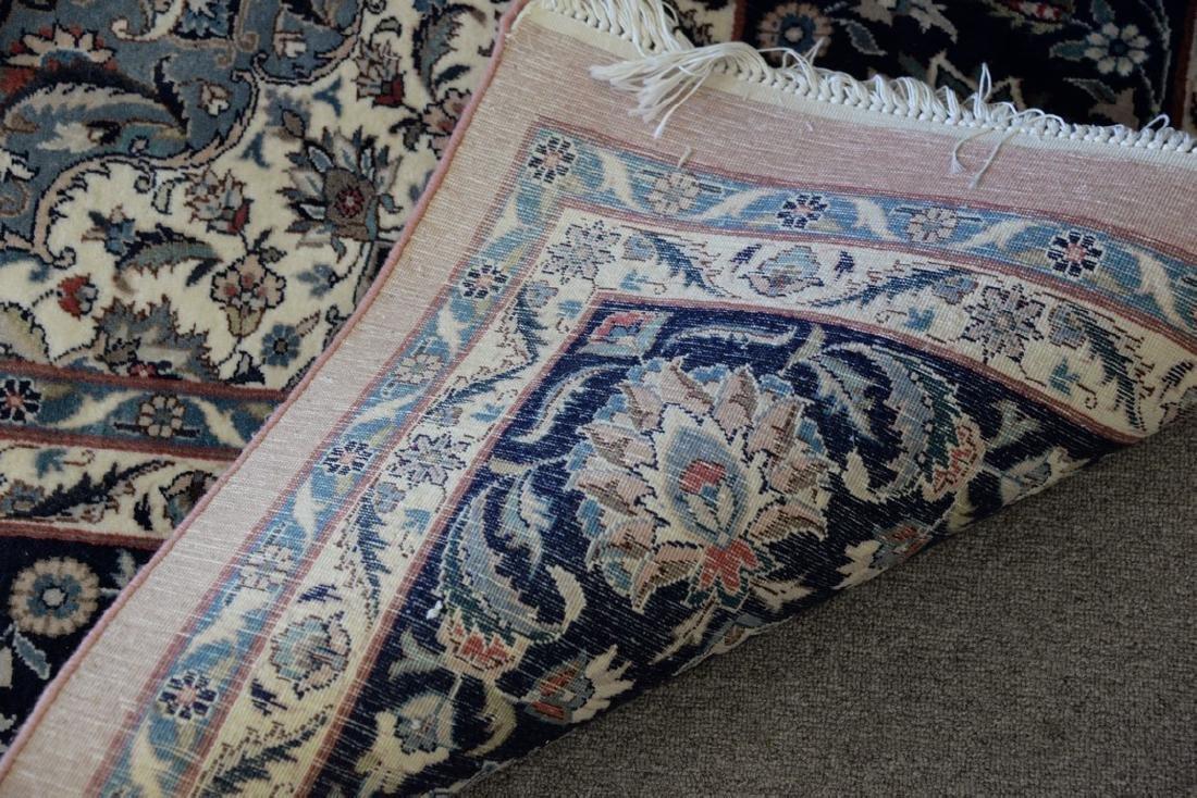 "Oriental carpet (some sun fading), 9' x 12'2"" - 3"