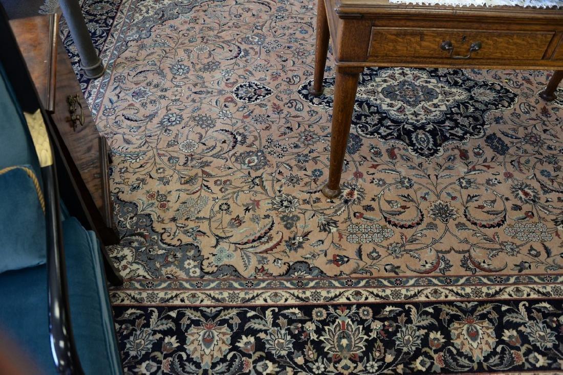 "Oriental carpet (some sun fading), 9' x 12'2"" - 4"