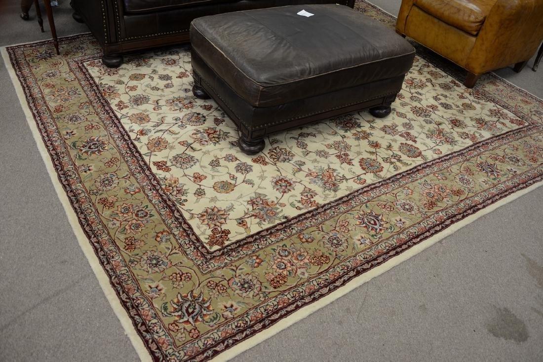 Oriental room size carpet, 8' x 10'.