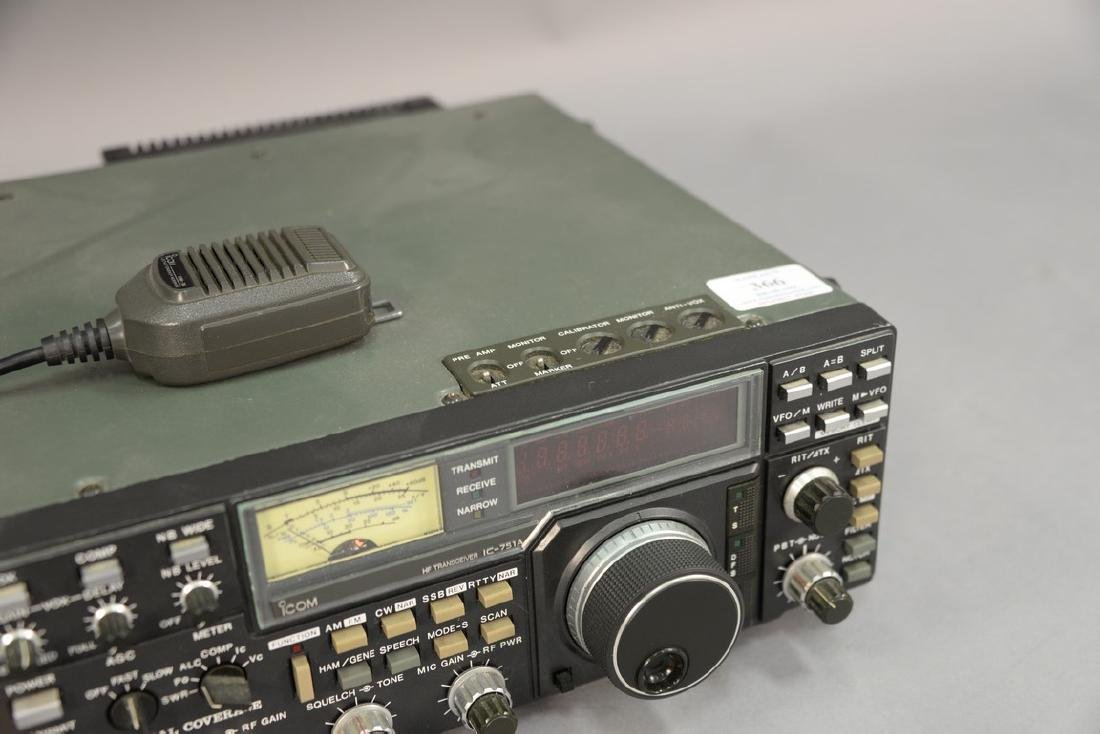 IcomIC-751A HF Transceiver radio. - 2