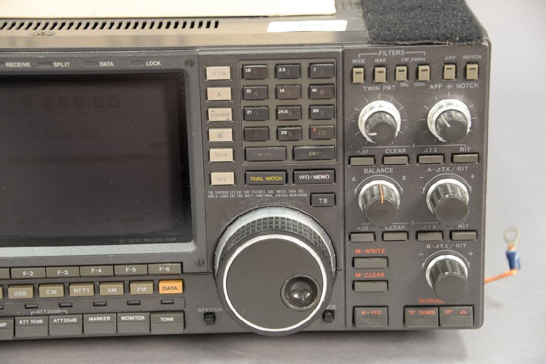 IcomIC-781 HF ham radio transceiver. - 2