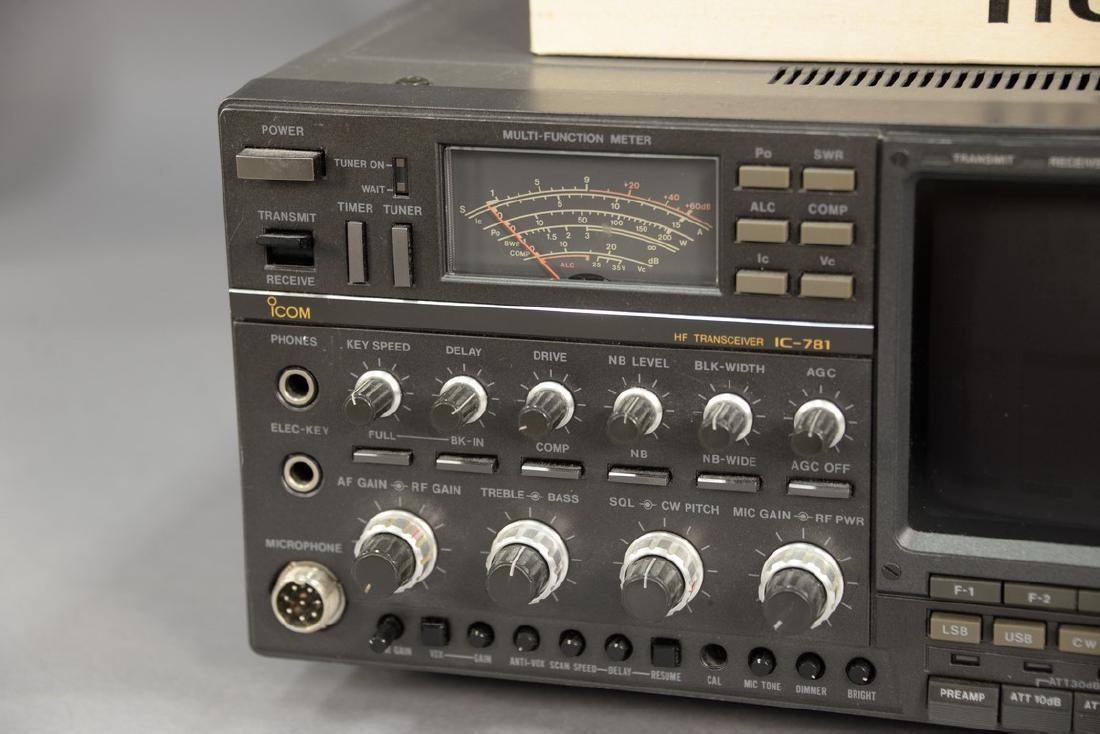 IcomIC-781 HF ham radio transceiver. - 3
