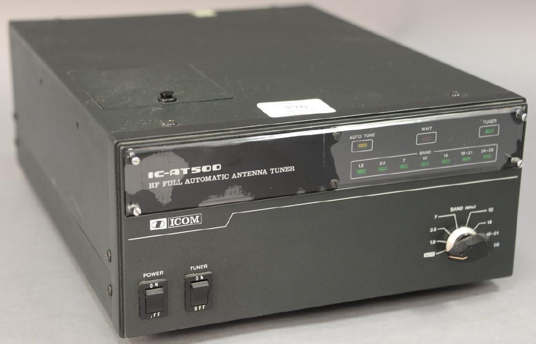 IcomIC-AT500 Automatic Antenna tuner.