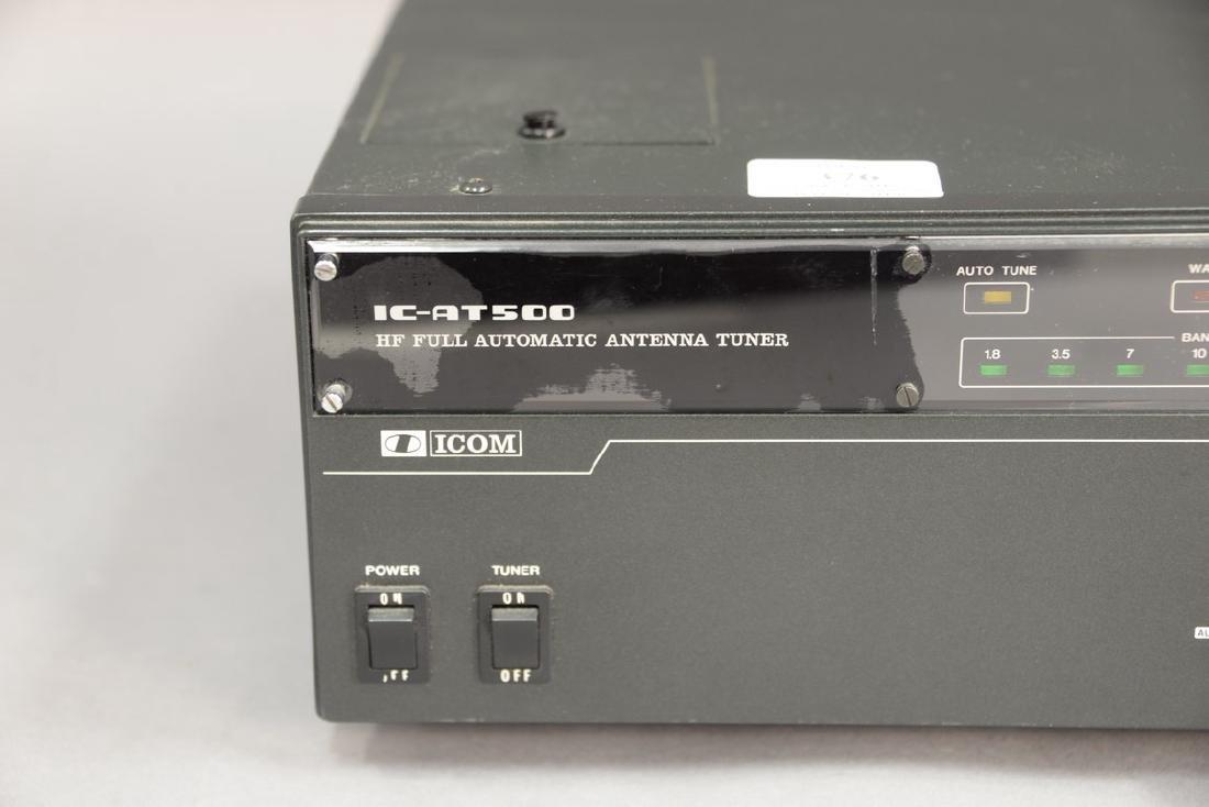 IcomIC-AT500 Automatic Antenna tuner. - 2