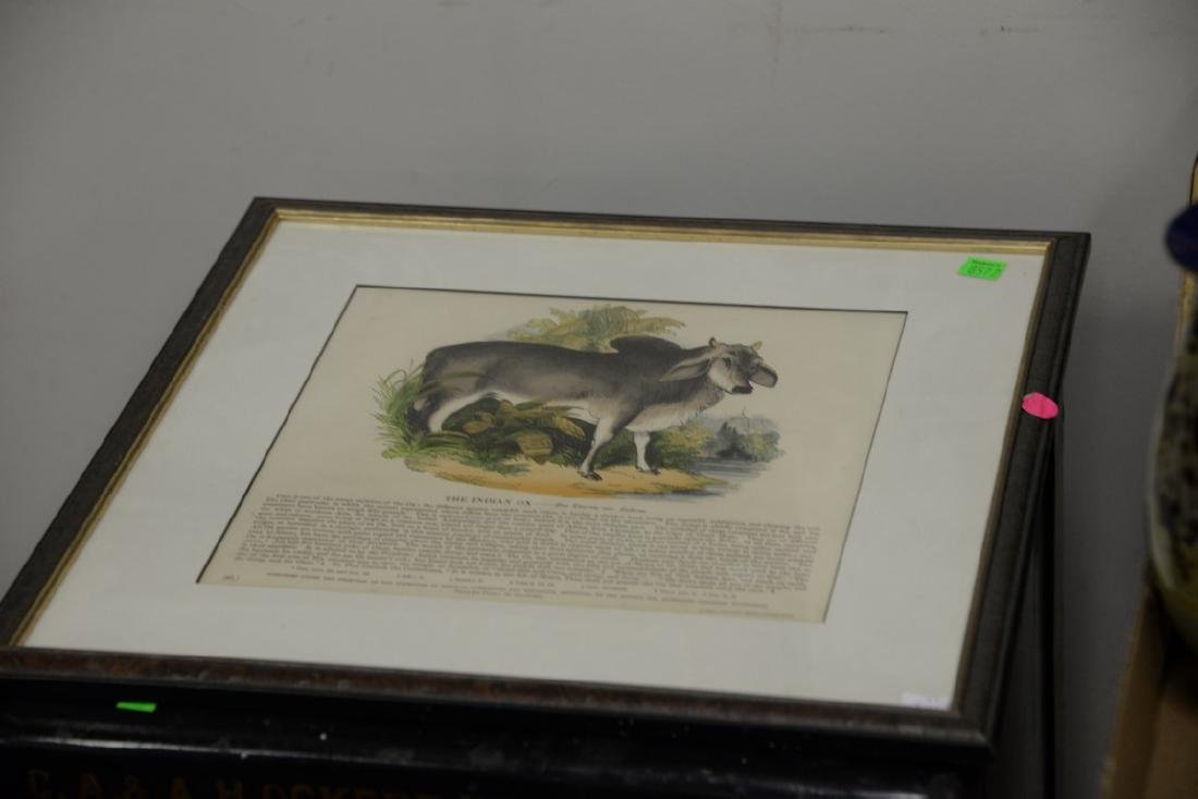 Four framed pieces to include WWI photograph of - 3