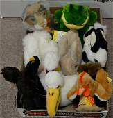 Lot of Thirty Five Steiff stuffed animals with thirty