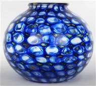Ercole Barovier (1889-1972) mosaic vase Vetreria