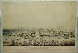 After Geo W Casilear View of Sacramento City As it