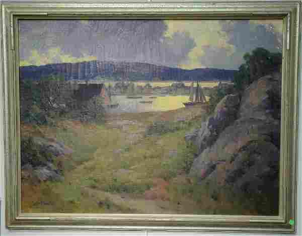 Marian Parkhurst Sloane (1876-1954), oil on canvas,