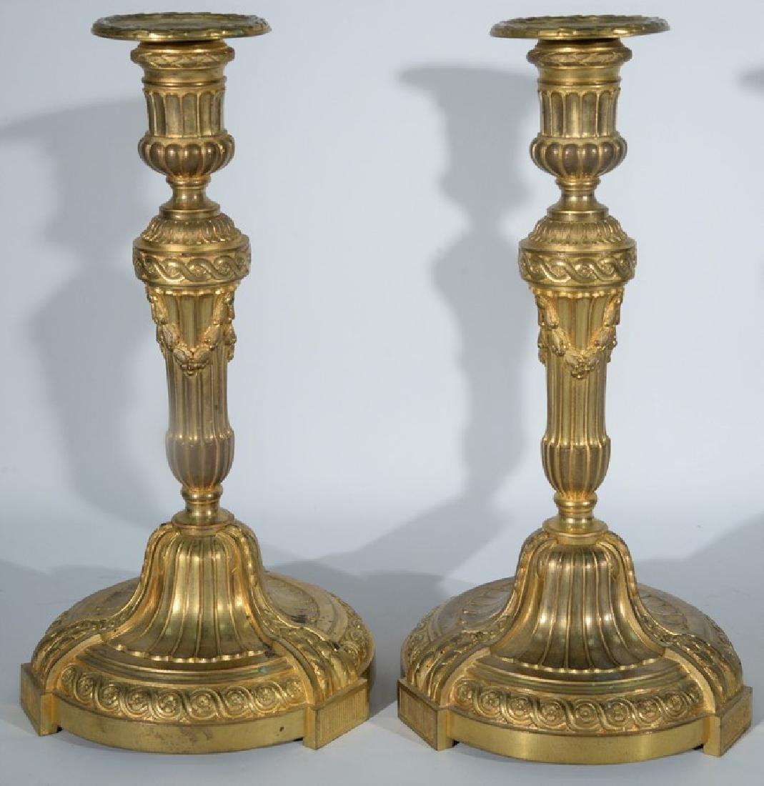 Pair of Ferdinand Barbedienne (1810-1892) Napoleon III