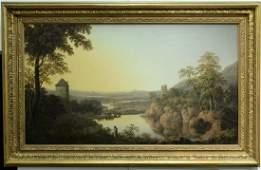 Joseph Francis Gilbert (1792-1855), oil on canvas, Sun