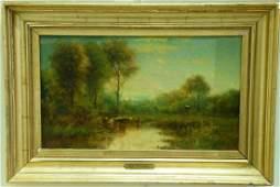 James McDougal Hart 18281901 oil on panel Late