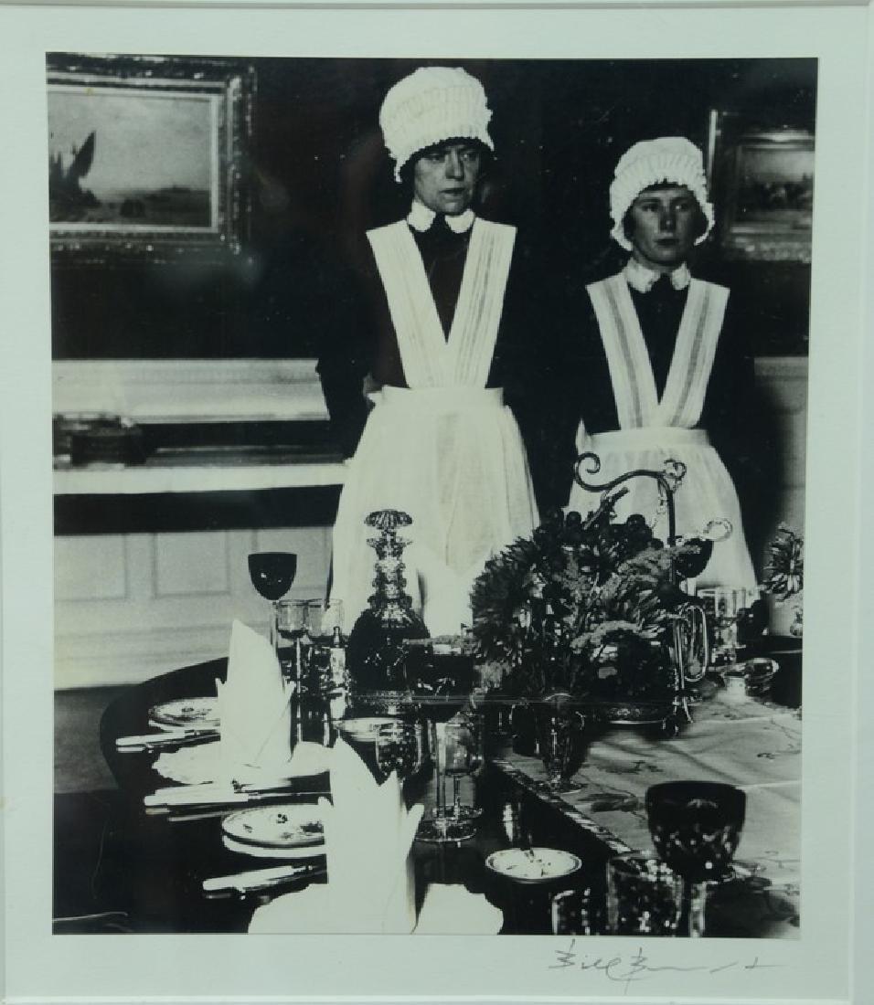 "Bill Brandt (1904-1983), silver print, ""Parlour Maid"