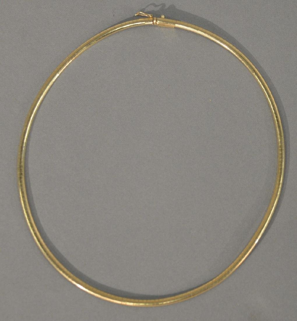 14 karat gold necklace. 20 grams