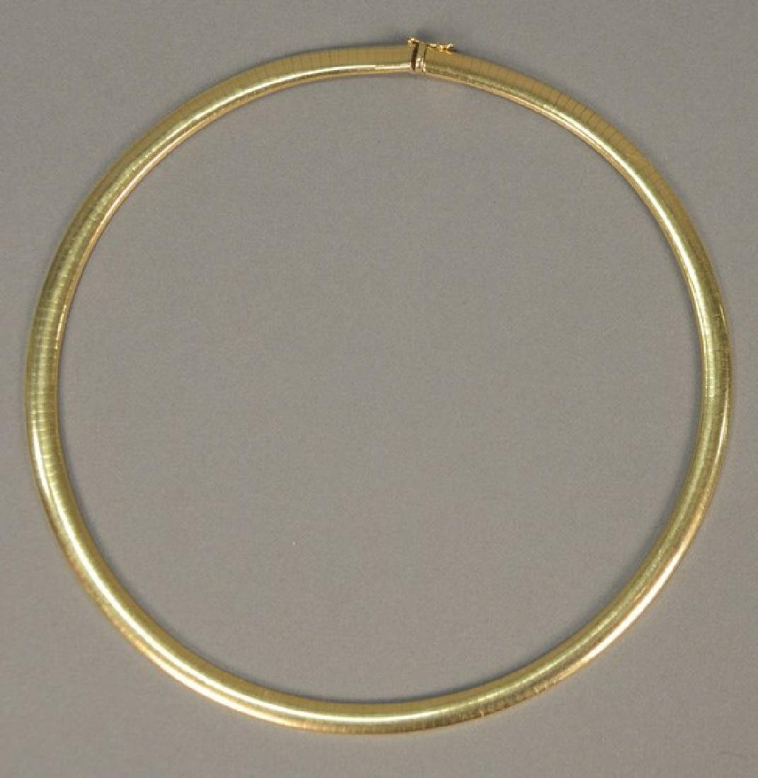 14 karat gold necklace. 39.3 grams