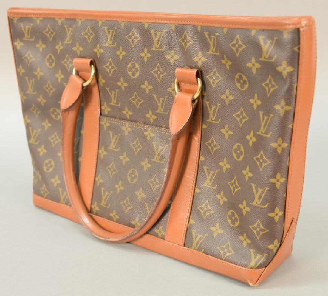 Louis Vuitton handbag (used, slight bottom wear). 11