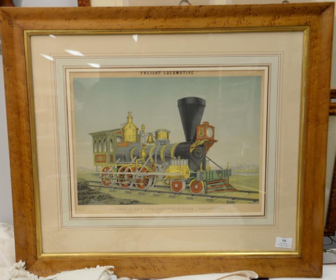 Freight locomotive, Richard Norris & Son, Locomotive